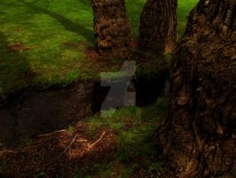 Out By The Creek by POETRYTHROUGHLENS