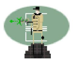 Pixel-wasters--enclave-officer by Polygon-Eyes