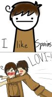 I like Spains by AgentNyxie