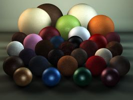 C4D Leather Shaders Pack by TonyHarris