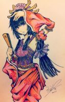 Chinese traditional style by Aieryiran