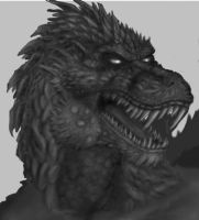 The Lizard God - WIP by UhMused