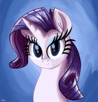 Rarity Painting by Daniel-SG