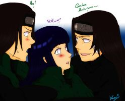 Neji times 2 by kawaiiS