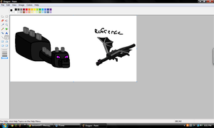 Enderdragon W.I.P. by Idellechi