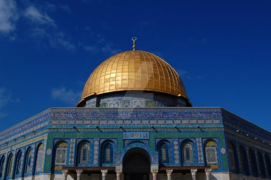 Dome of the Rock by batusai316