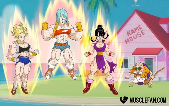Dragon Ball FMG by muscle-fan-comics