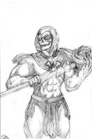 Skeletor pencils by pycca