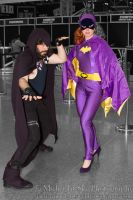 Batgirl and ___ cosplay by MidnightSkyPhoto