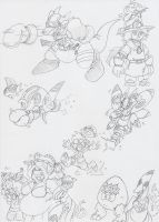 DZ Sketch Dump Something or Other by BlueIke