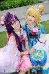 Love Live! -  Seven Lucky Gods Nozomi x Eli by Xeno-Photography