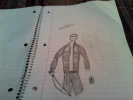 Jason Voorhees attempt by shadowtheblackdragon