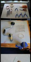 Metalwork: Basic materials and tools by Joshua-Mozes