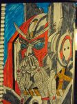 Sentinel Prime Doodle by TheSkullgrin140