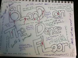 Lyric page for B.O.T.D.F by everything142