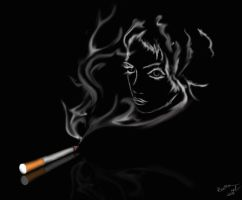 Imagination of a smoke by RussPAir