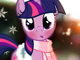 Winter Twilight by drawponies