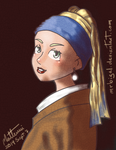Girl with a Pearl Earring by MrBIGAL