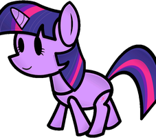 MPP Twi Animated Walk Cycle by UrpleB3atin