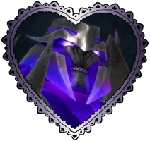 Large Megatron Heart Stamp 3 by TheDarkLadyMegaria