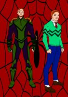Spider-Man Year One-Norman And Harry Osborn by Comicbookguy54321