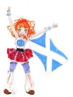 Yes scotland by Finaz
