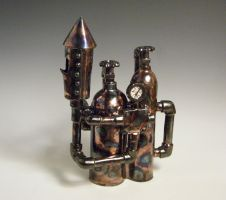 Tea apparatus --SteamPOT-- by T0nyT3rr0r