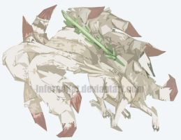 Semi-Abstract Ninetails by InfernoKat