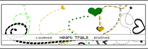 Heart Trails - Image pack by Liquette