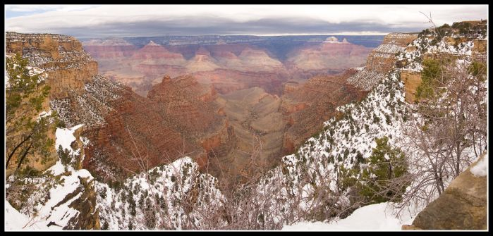 Snow Clad Canyon... by forest-wanderer