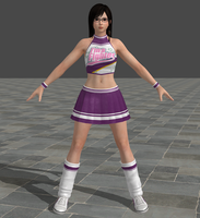 Dead or Alive 5 Ultimate - Cheerleader - Kokoro by Irokichigai01