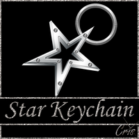 Cris Star Keychain by only1crisana