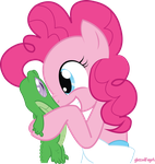 Pinkie and Gummy by Audoubled