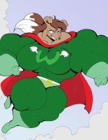 Rosie O'Gravy's Super Form Part 4 colored by PS286