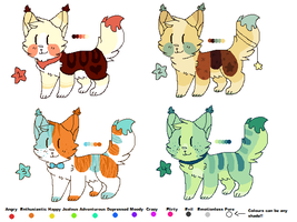 Nekogaka Adoptable Auctions // OPEN by catpaths
