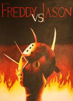 Freddy vs. Jason by DraculeaRiccy