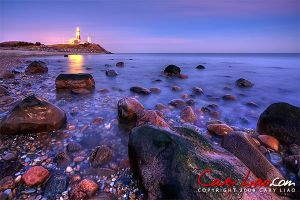 Montauk Point Lighthouse Xmas by soak2179