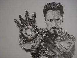 ironman ,avengers movie by ARTIEFISHEL79