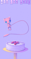 Mew Can Haz? by Bunnlette