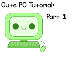 Cute PCs Inkscape Tutorial Preview 1 by Paradasia