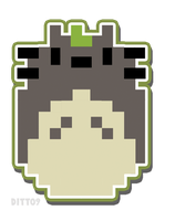 Totoro-bits by ditto9