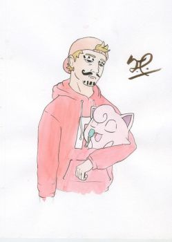 Troy and Jigglypuff by tyler-nixon