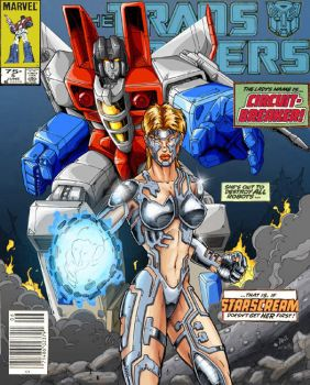 Marvel TF cover homage by Inker-guy