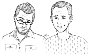 Markiplier and Matthias - Here Comes The Smolder by AnimeAngel7
