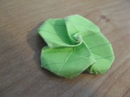 Smallest Origami Rose by theartisticnerd