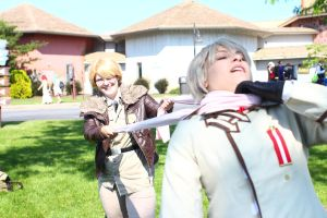 ColossalCon 2014 - Of Scarves and Glasses(PS) 70 by VideoGameStupid