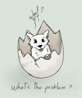 What's the problem ? by Cristaleyes