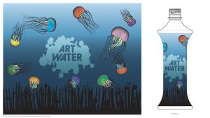 Art Water - Jellyfish by GetCooked