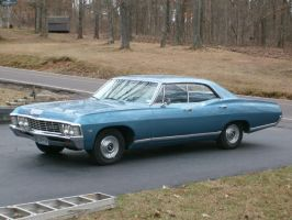 1967 Chevy Caprice by Supernatural28