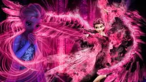 Frozen - 1920x1080 (Elsa fear is your Enemy) by CoGraphiC